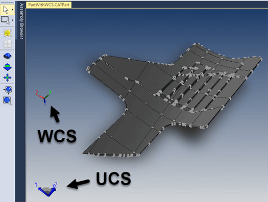 ucs wcs coordinate systems