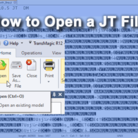 How to Open a JT File
