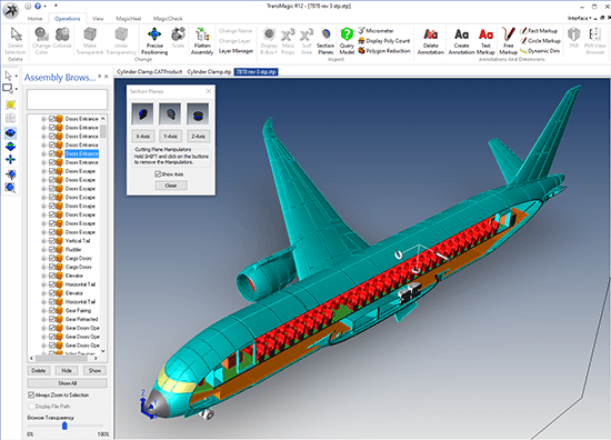 Tips for Working with Large CAD Files - TransMagic