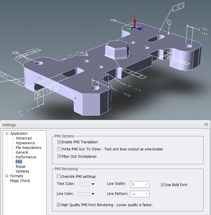 dude where s my cad data part 1 transmagic enabling pmi