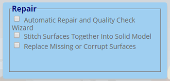 Repair tools perform automatic and interactive repairs to solve simple and complex repair issues.