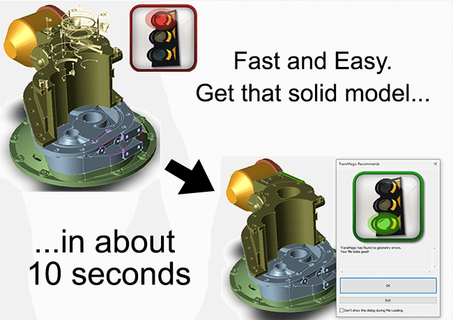 Fast and Easy CAD Model Repair