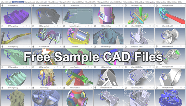 Free Sample CAD Files - TransMagic