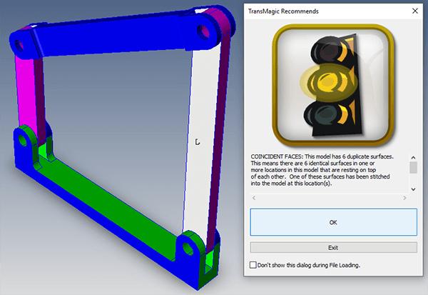 Duplicate Surfaces Error