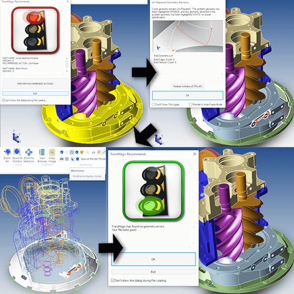 CAD Model Repair Workflow