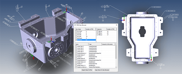 how to view cad pmi transmagic benefits of the pmi view browser