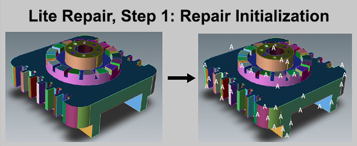 Repair Initialization