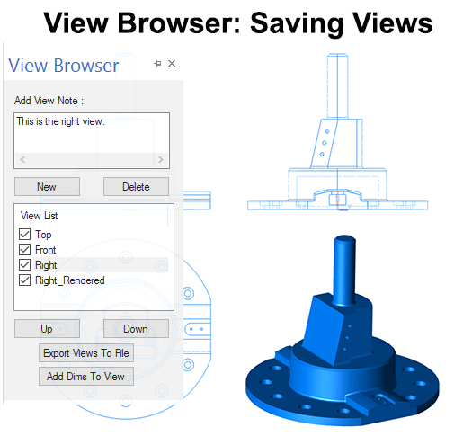 Saving Custom Views