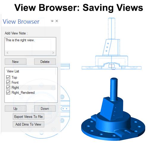 Saving Custom Views