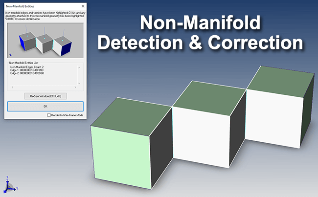 Non-Manifold Detection