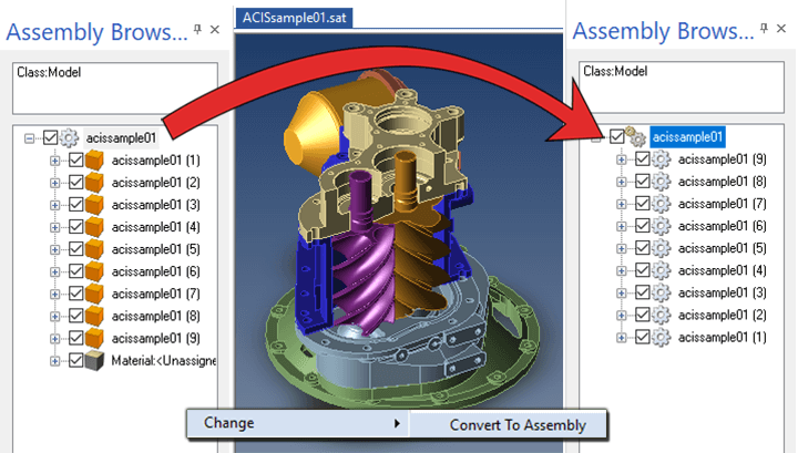 Convert to Assembly