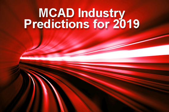 MCAD Industry Predictions for 2019