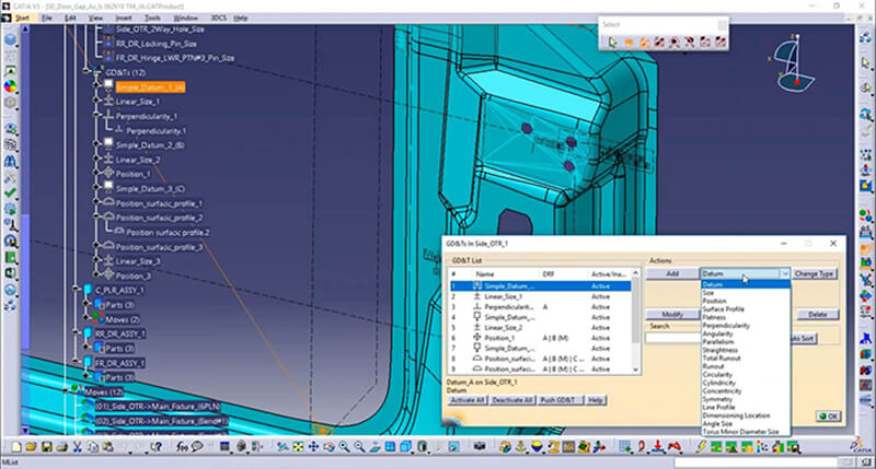 MBD places all of the design information on the CAD model, reducing or removing the need for 2D drawings