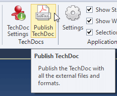 TechDoc Publish Technical Data Package