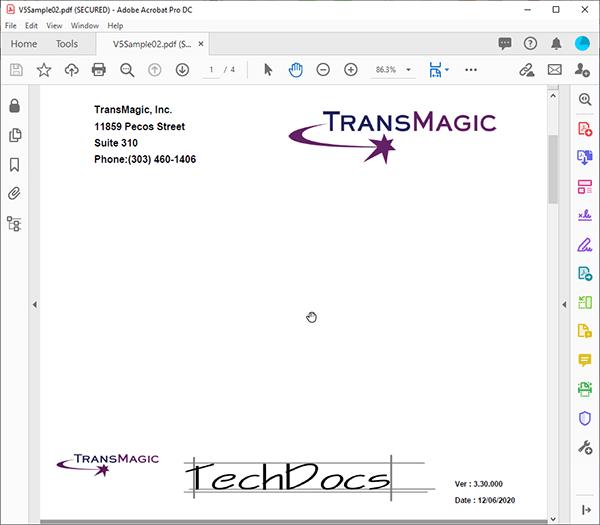 techdocs title page