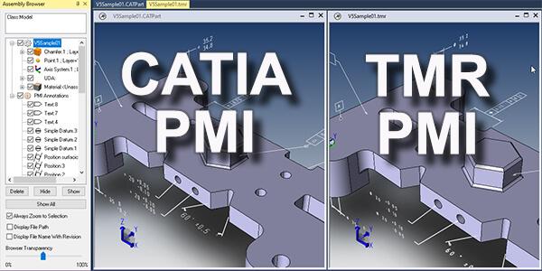 write PMI data to TMR