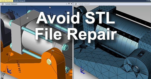 Avoid STL File Repair