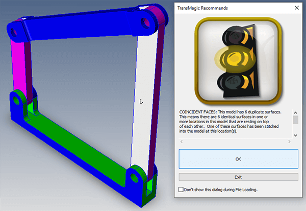 3d-model-repair-Coincident Faces Error