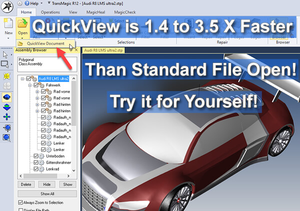 View CAD Files Faster