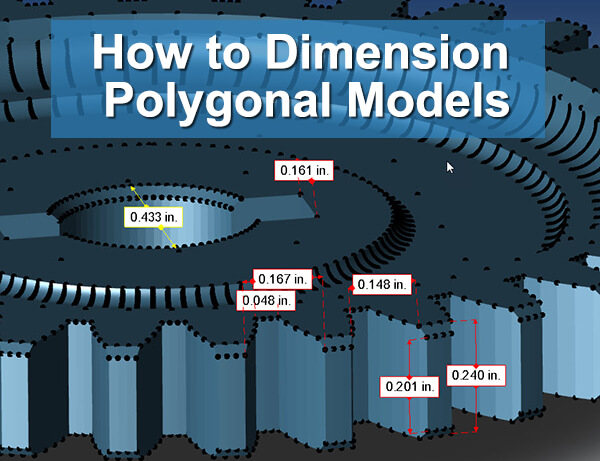 How to Dimension Polygonal Models