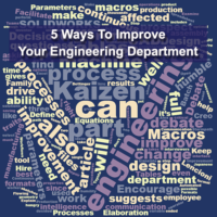 5 Ways to Improve Your Engineering Department