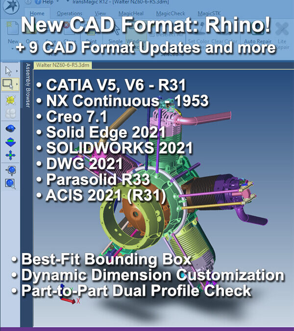 Rhino Support, New Format Updates for TransMagic R12 SP3
