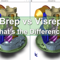 Brep vs Visrep Models
