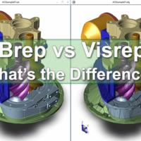 Brep vs Visrep Models