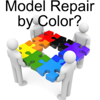 Model Repair By Color?