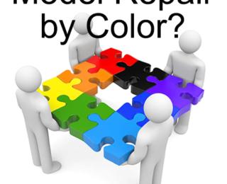 Model Repair By Color?