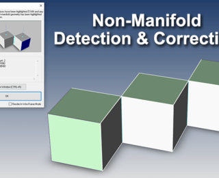 Detecting and Correcting Non-Manifold Geometry