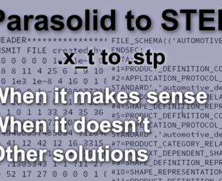 Parasolid to STEP
