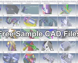 Free Sample CAD Files